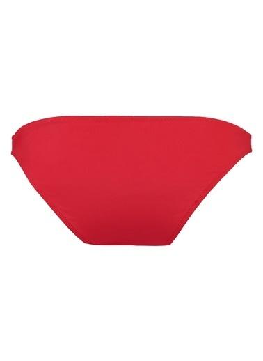 Mavi Bikini Alt Kırmızı